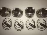 Kolbensatz (4 Stück) für Bohrungsdurchmesser 84 mm Verdichtung 11.5-1 inkl Zylinderlaufbuchsensatz 4 Stück