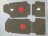Alfa Romeo Velours Fußmatten, Autoteppich,Paßformmatten mit Alfa Emblem